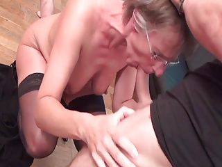 Anal;Castings;Double Penetration;Facials;Matures;Mature Glasses;Glasses;Rough SHORTHAIRED MATURE IN GLASSES ROUGH...