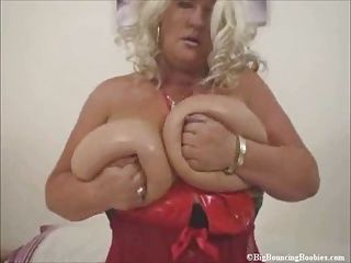 BBW;Big Boobs;Matures;Massive Melons;Massive;Big Bouncing Boobies MASSIVE MELONS IN...