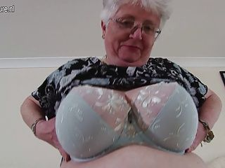 Amateur;Grannies;Matures;MILFs;Cougars;HD Videos;Playing with Herself;Big Breasted Granny;British Granny;Big Breasted;Herself;Big Granny;Playing;Granny;Mature NL Big breasted British granny playing...