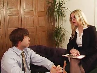 British;Femdom;Matures;Spanking;Mistress;Office;Slave;Office Slave;Her Slave;Mistress Sex;Office Sex Posh Office Mistress has sex with her...