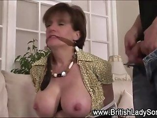 BDSM,Fetish,Mature Mature british lady sucks cock and...