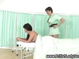Lingerie,Mature,Stockings Mature brit in...