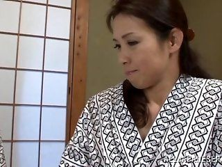 Asian,Japanese,Mature,Big Tits,Facial,Hardcore Yuuko Kuremachi is a hot mature...