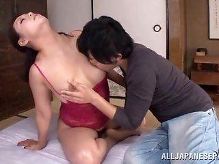 Asian,Japanese,Mature,Blowjob,Cumshots,Shaved,Hardcore Neko Ayami hot mature Asian babe...