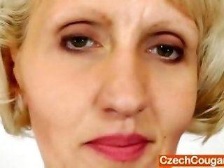 Dildos/Toys,Masturbation,Mature horny mature czech Sava masturbating