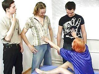 Anal;Group;Mature;Gangbang;Double Penetration;Redhead Licia 2