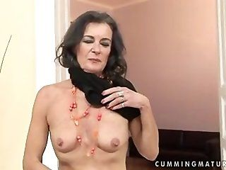 Anal;Mature;Squirting;Masturbation Masturbating granny