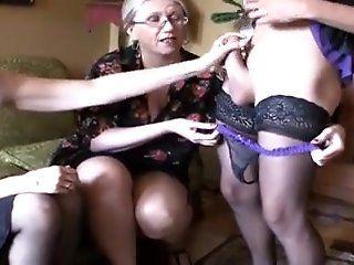 Femdom,Lingerie,Masturbation,Mature These two women...