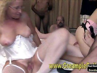 Group;Mature;MILF;HD Creampie Fuckfest...