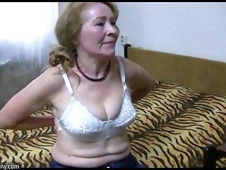 Big Tits;Mature;Blonde;HD;Compilation OldNanny granny...