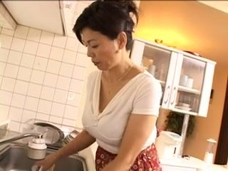 Asian,Big Tits,Grannies,Hairy,Mature,Japanese Breasty and unshaved Japanese granny...