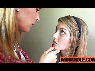 Lesbian;Mature;MILF;Blonde Innocent teen...