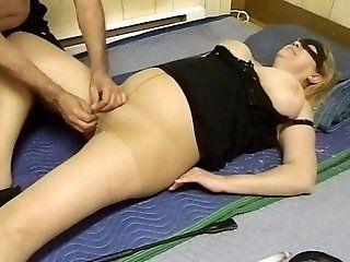 Big Tits,Dildos/Toys,Mature,Blonde Mature lady in...