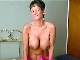 Big Tits;Amateur;Mature;Creampie Hot Granny...