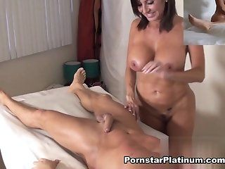 Pornstars,Massage,Cunnilingus,Hardcore,Mature,Brunette,Big Tits,MILFs Marcus is at my...
