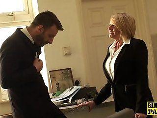 Big Tits;Mature;Fetish;Blonde;HD Busty mature brit...
