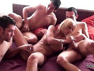 Big Tits;Group;Mature;MILF;Gangbang;HD Geile MILF...