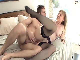 Fetish,Stockings,Mature Milf with big...