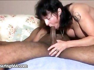 Anal;Mature;Interracial;Creampie Mature Wife...