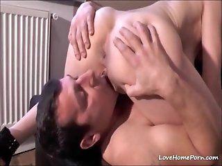 Amateur;Mature;Squirting Slut squirts cum...