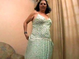 Hairy,Mature,BBW Unshaved mature fatso gets her plump...