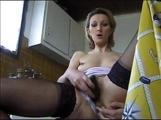 Anal;Mature;Blonde Horny French Milf...