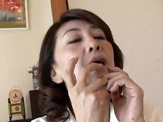 Japanese,Lesbian,Mature Mika Matsushita (53) & Ikumi...