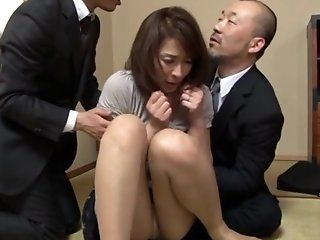 Asian,Japanese,Mature,Blowjob,Cumshots,Group Sex,Stockings,Hardcore,Threesomes Hisae Yabe is a...