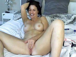 Mature mature masturbating and orgasm from