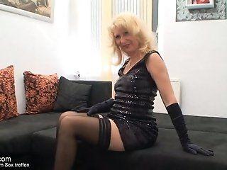 Amateur;Mature;MILF;Blonde;HD Reife Sexmutti...