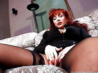 Big Tits;Mature;Redhead Oldspunkers 65