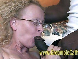 Mature;Interracial;Blonde;Creampie;HD Unwanted Creampie