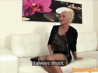 Big Tits;Amateur;Mature;MILF;Blonde;POV;HD FakeAgent Horny...