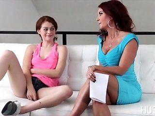 Big Tits;Lesbian;Mature;MILF;Redhead;HD Alice Green in...