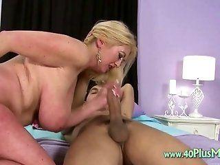 Big Tits;Mature;Blonde;HD Chubby mature...
