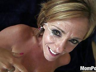 Cougars;Facials;Matures;MILFs;POV;HD Videos;Top Rated;Busty MILF;Big Tits Cougar;Big Tits Facial;Old Big Tits;Cougar Tits;Big Tits;Old;Mom POV 44 year old big tits cougar takes facial