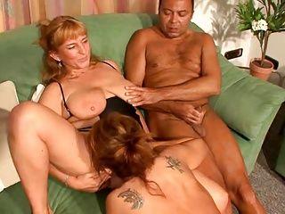German;Grannies;Matures;Threesomes Nachbarin Gerda 3