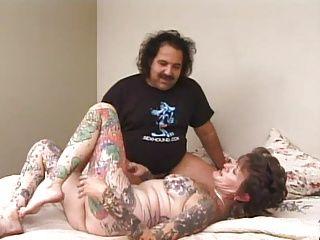 Matures;Pornstars;Tattoos;Butt;Mother Ron Jeremy...