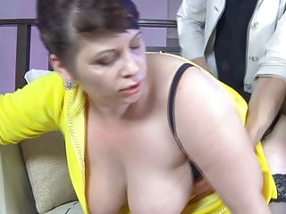 BBW;Big Boobs;Grannies;Matures;Old+Young;HD Videos;Young Guy;Young BBW-Granny taken...