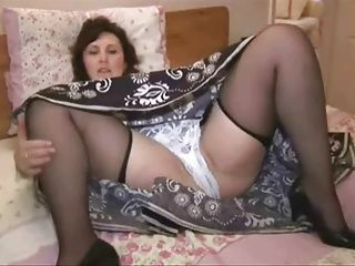 Matures;Stockings;Upskirts;Up Skirt;Panties;Solo;Play Mature in stockings