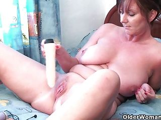 Big Boobs;Grannies;Matures;MILFs;Stockings;HD Videos;Dildo;Collection;Granny;Older Woman Fun Granny Joy plays...
