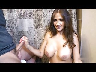 Matures;MILFs;Old+Young;Caught;Toilet Step-mom caught...