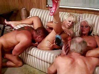 Grannies;Group Sex;Matures;Couple;Mature Couples Fucking;Horny Fucking;Couples Fucking;Couples;Fucking 3 horny mature...