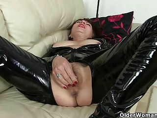 British;Cougars;Grannies;Matures;MILFs;Old;Granny;Older;English;Grandma;Catsuit;GILF;Chubby;Mother;Georgie;Solo;Sandie;Big Tits;Old Woman;Orgasm;Older Woman Fun British grannies...
