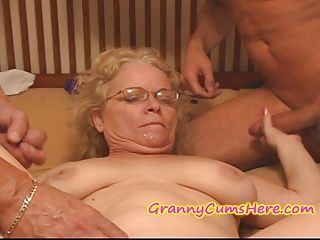 Amateur;Creampie;Gangbang;Grannies;Matures;Old;Granny;Granny Cream;Nasty Granny;Nasty;Granny Cums Here NASTY Granny gets FED her CREAM PIE