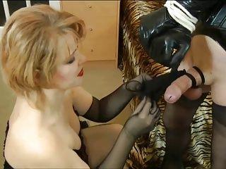 Anal;BDSM;Handjobs;Matures;Stockings;Mistress Cross-dresser used by Mistress