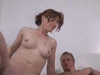 Matures;German;Young;Nasty;Hard;Family;Mother;Son;Taboo;Forbidden;Redhead;Pussy Fucking german boy with...