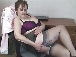 Big Boobs;Matures;Stockings;HD Videos;Office;At the Office;Busty Office;Office MILF;Busty MILF;Stocking Aces Busty Milf Alison...