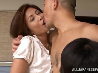 Asian,Japanese,Creampie,Cumshots,Group Sex,Mature,Stockings,Hardcore,Threesomes,Lingerie Check out this really hot mature...