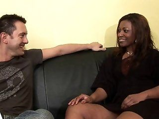 Black and Ebony,Mature,Interracial,Big Tits,Anal Horny mature black bitch is...